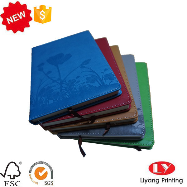 PU office student notebook printing with logo