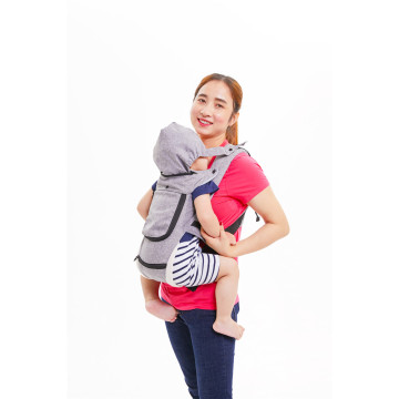 Hooded Cool Mesh Baby Carrier
