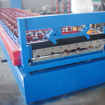 Low cost tile roof forming building material machinery energy ceme