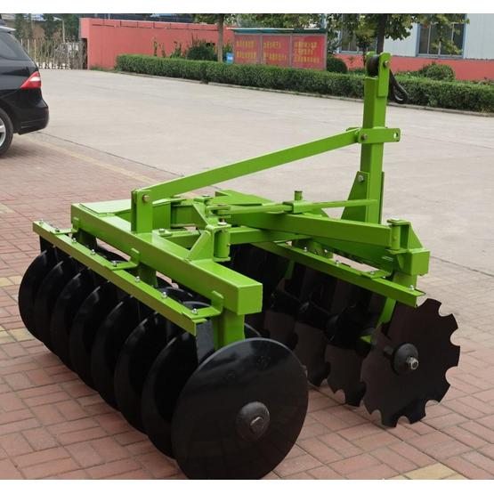 Small trailed soil tillage whole mechanical disc harrow