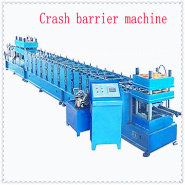 high speed bridge guardrail roll forming machine
