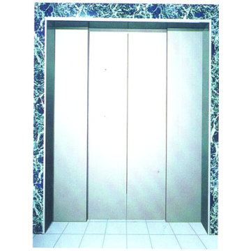 Elevator Decoration Two Speed Center opening Landing Door