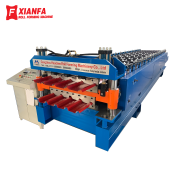 CE Color Steel Sheet Double Layer Forming Machine