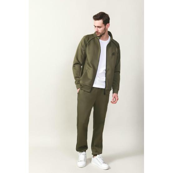 MEN 'S KNIT TRICOT CASUAL TRACK SUIT
