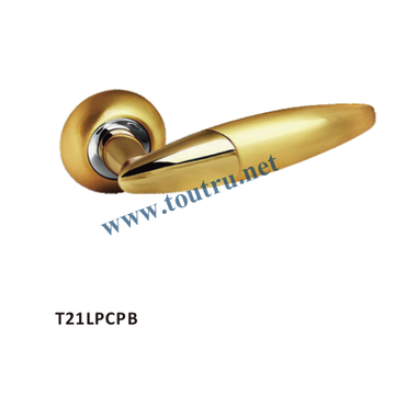 Hot sale zinc Rosette Door Handle HEAVY DUTY