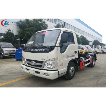 2019 New FOTON 4cbm waste management roll off truck