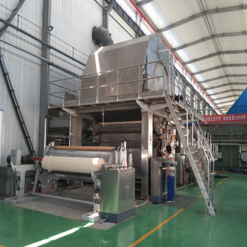 Bagasse Pulp Making Toilet Tissue Paper Making Machine