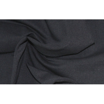 black jersey knit fabric