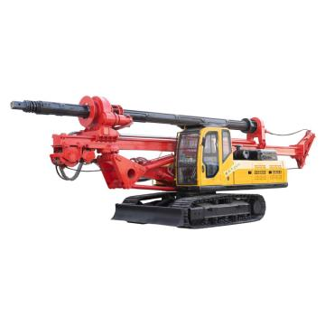 Engineering crawler hole drilling rig machine