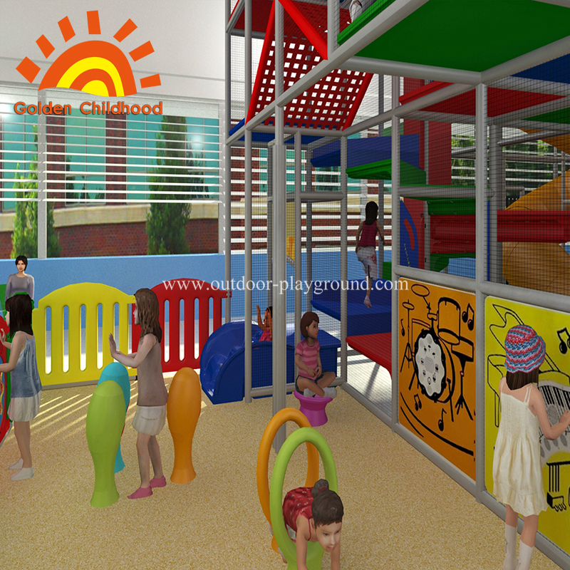 Large play area indoor structure