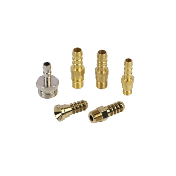Bath Brass Outlet Connector CNC