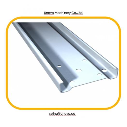Galvanized steel c channel section