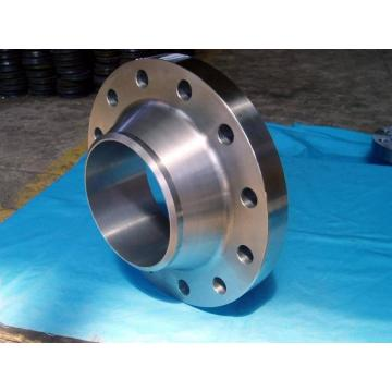 Carbon steel retaining ring flange