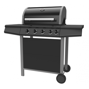 Gas Barbecue Grill with Side burner