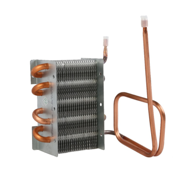heat exchanger for vehicle refrigerator