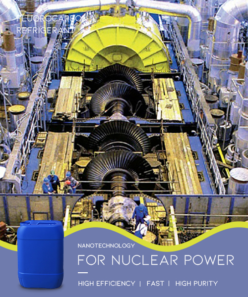 refrigerant for nuclear power