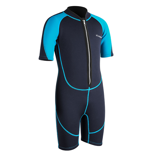 Seaskin Children's Shorty Wetsuit