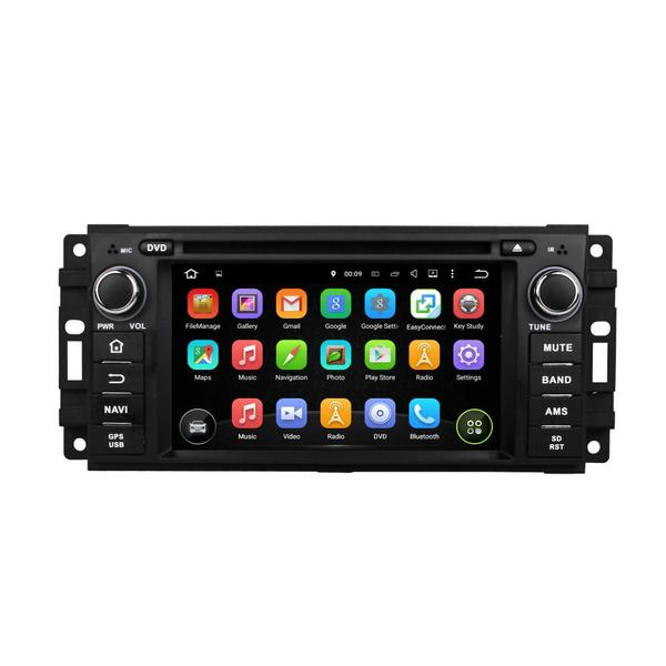 6.2 Inch Octa Oore Jeep DVD Player