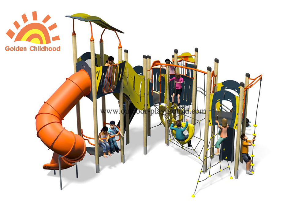 Outdoor Play Structure Playground For Children
