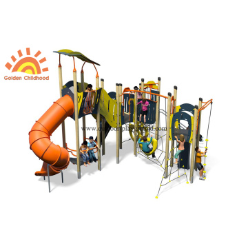 Outdoor HPL Hot Sale Large Slide Playground