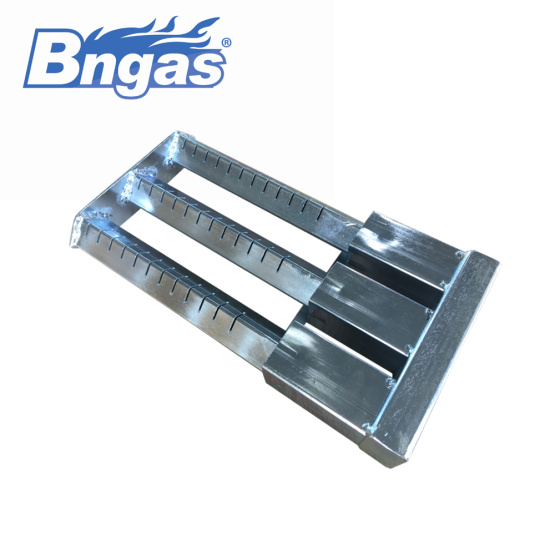 Stainless steel pipe burner triple pipes gas burner