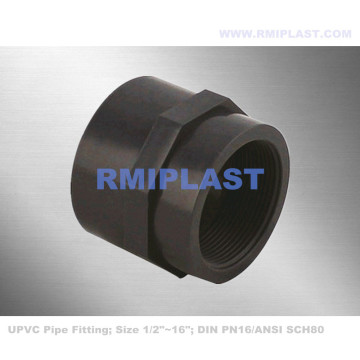 PVC Female Coupling SCH80