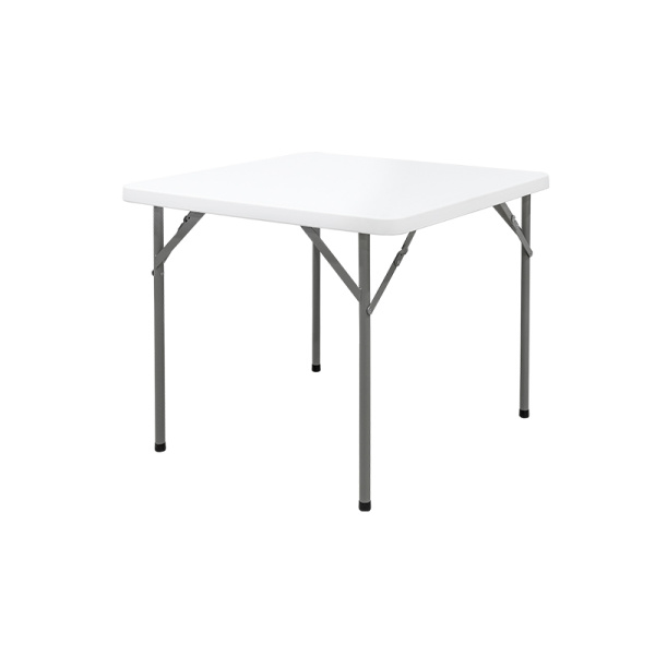 cheap 86cm square folding plastic hotel table