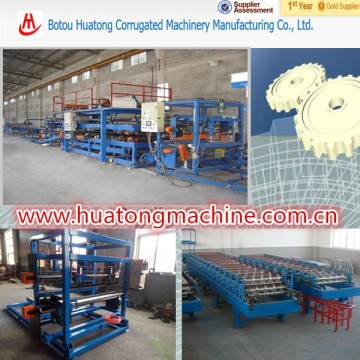 Automatic thermal thermal insulation eps sanwitch panel producing machinery