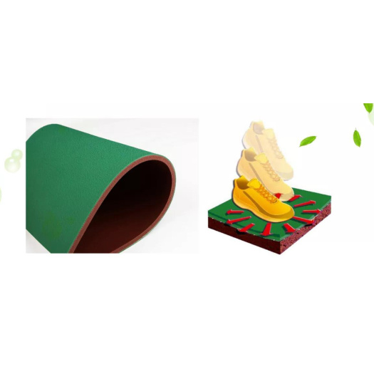 Table Tennis Flooring pvc roll packing