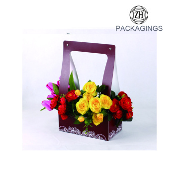 New designed cheap flower paper box