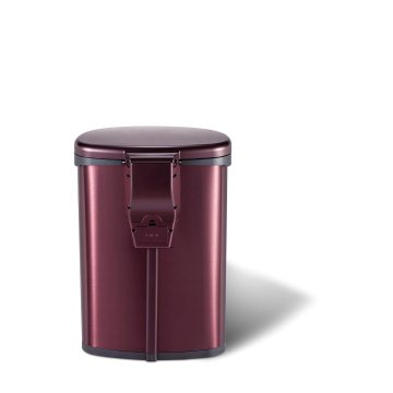 Stainless Steel Rose Gold 20L Trash Can