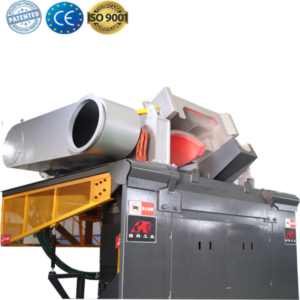 Electric metal melting foundry Induction furnace