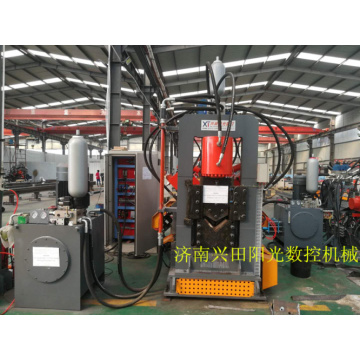 CNC Double Blade Punching Shearing Angle Production Line