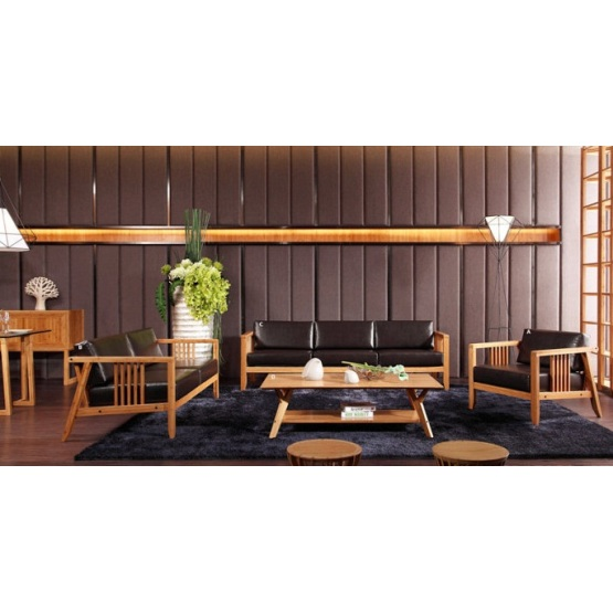 Modern Bamboo Living Room Tea Table