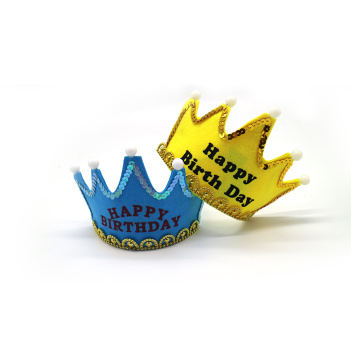 King Princess Crown LED Birthday Party Hat