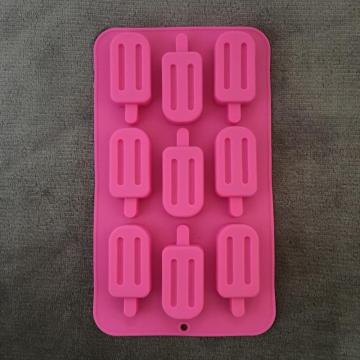 Multi-functional creative silicone ice box cake molds