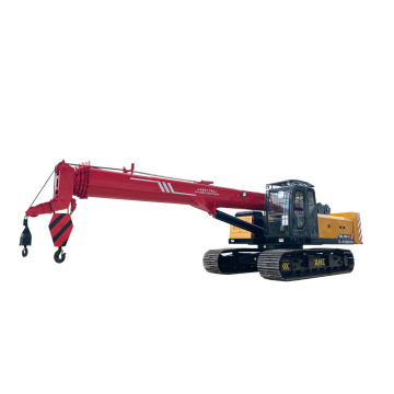 Small crawler crane on sale