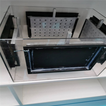 Non polluting Aluminum plate for aluminium air batteries