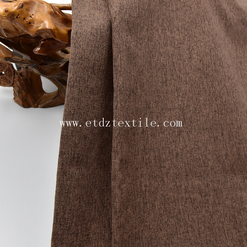soft handfeel fabric for sofa in polyester