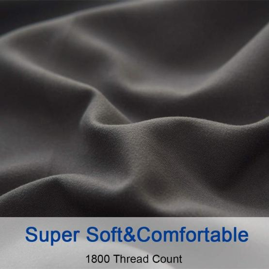 1800TC 95gsm Microfiber Sheet Set With Embroidery