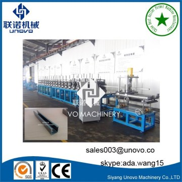 photovoltaic solar panel rack roll forming machine