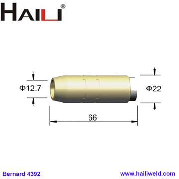 4392 Brass Tapered Nozzle 1/2