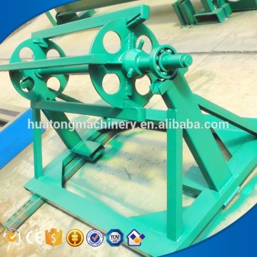 Manual Color steel coil decoiler