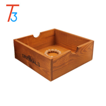 home decorative desk vintage style wooden storage box