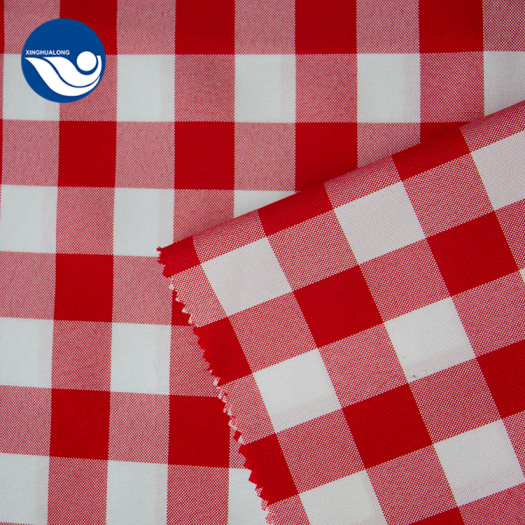 100% Polyester Tablecloth Mini Matt Oxford Fabric