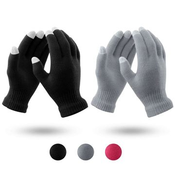 Digitek Touch Screen Gloves Knit Women