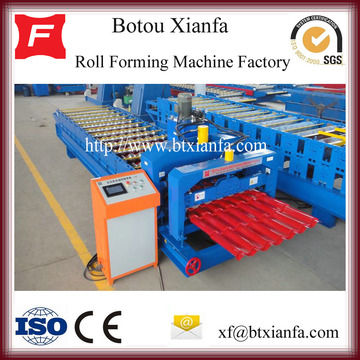 Full Automatic Roof Glazed Tile Making Machine