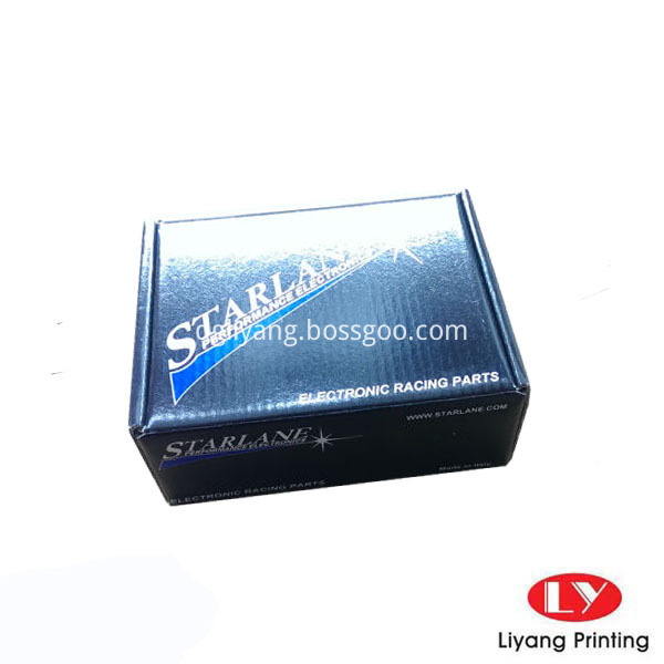 small corrugated box