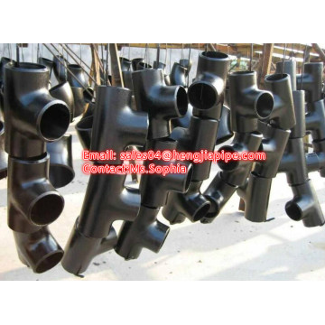 Cangzhou BW seamless and welded pipe tee