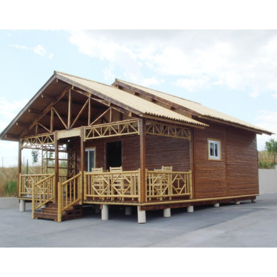 Earthquake Resistant Bamboo House